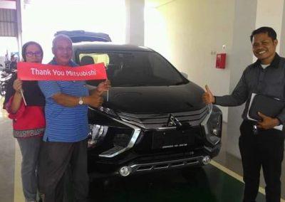 foto serah terima mobil mitsubishi tangerang banten oleh Bahtiar sales executive (1)