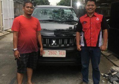 foto serah terima mobil mitsubishi tangerang banten oleh Bahtiar sales executive (5)