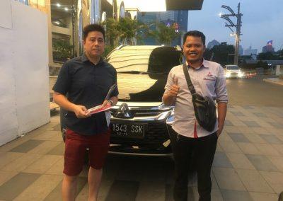 foto serah terima mobil mitsubishi tangerang banten oleh Bahtiar sales executive (7)